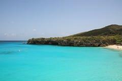 Curaçao setzen auf den Strand Lizenzfreies Stockbild