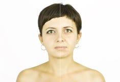 Cura de la cara Imagen de archivo libre de regalías