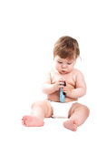 Cura del bambino Fotografia Stock Libera da Diritti