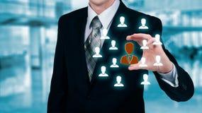 Cura del cliente, assicurazione, cura per gli impiegati, risorse umane, ufficio di collocamento e concetti di segmentazione di ve fotografie stock