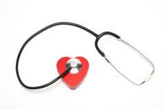 Cura del cuore Fotografia Stock
