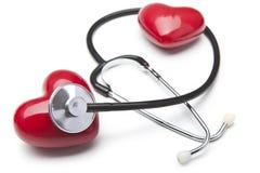 Cura del cuore Fotografia Stock Libera da Diritti