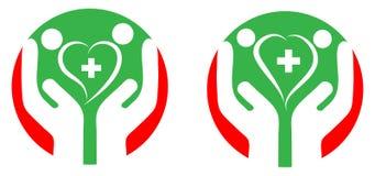 Cura del cuore Fotografie Stock