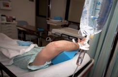 Cura della brughiera: Stanza di ospedale Immagine Stock Libera da Diritti
