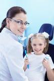 Cura dentale immagine stock