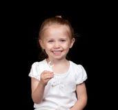 Cura dentale sveglia Fotografie Stock Libere da Diritti