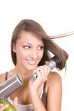Cura di capelli fotografia stock