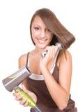 Cura di capelli Immagini Stock Libere da Diritti