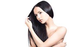 Cura di capelli Immagine Stock