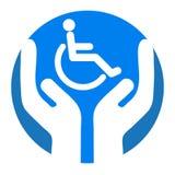 Cura di Disable illustrazione di stock