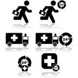 Cura di emergenza illustrazione vettoriale