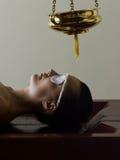 Cura di massaggio di Ayurvedic Fotografia Stock Libera da Diritti
