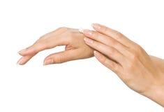 Cura di pelle Immagine Stock