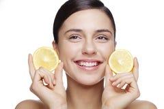Cura di pelle naturale Immagine Stock