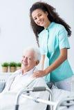 Cura di proprietà privata medica Immagine Stock