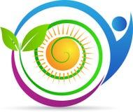 Cura di verde di Eco Fotografia Stock Libera da Diritti