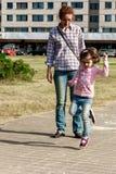 Cura parentale Fotografia Stock