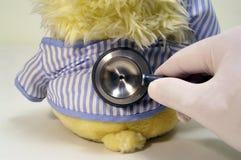 Cura pediatrica Fotografia Stock Libera da Diritti