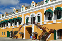 Curacao. Government of the Lesser Antilles building in willemstad, Curacao royalty free stock photography