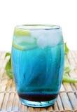Голубой curacao выпивает Стоковые Фотографии RF
