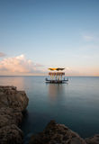 Curacao. Abandoned structure by the Marriott hotel Royalty Free Stock Image