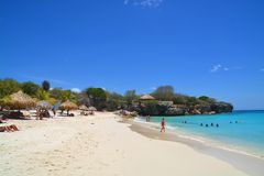 Curacao beach royalty free stock photos