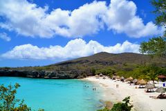 Curacao beach stock photos