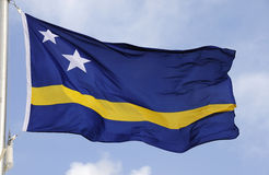 Curacao Flag Royalty Free Stock Images