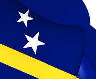 curacao flag vektor illustrationer