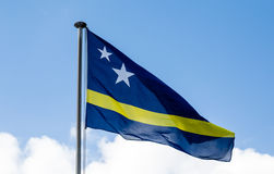 Curacao Flag Against Sky Stock Images