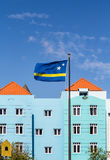 Curacao Flag by Blue Plaster Stock Photography
