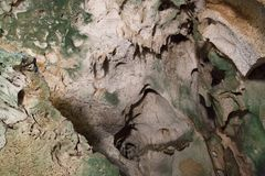 Curacao Netherland Antilles Caves pictures Royalty Free Stock Photo
