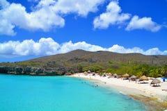 Curacao strand royalty-vrije stock foto