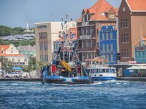 Curacao Views. Rough seas  Views around the small Caribbean island of Curacao Royalty Free Stock Image