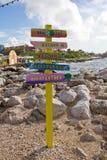 Curacao Willemstad Royaltyfria Bilder