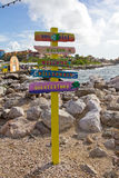 Curacao, Willemstad Royalty Free Stock Images