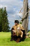 Curandeiro de Sami Fotografia de Stock