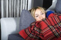 Curando a gripe imagem de stock royalty free