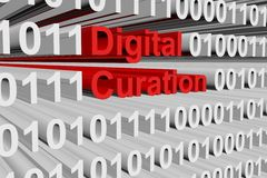 Curation de Digital illustration de vecteur