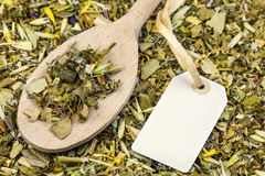 Curative natural herbal tea Royalty Free Stock Photography