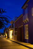 Curato de Santo Toribio Street Fotografía de archivo