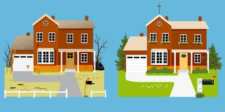 Free Curb Appeal Improvement Royalty Free Stock Image - 152657896