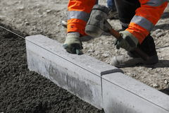 Curb building Stock Photos