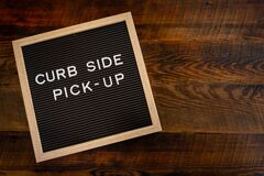 Free Curb Side Pick Up Copy Space Stock Photo - 178621410