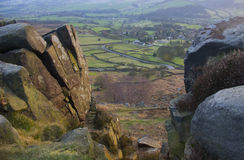 Curbar Edge Stock Photo