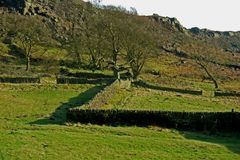 Curbar Edge, Peak District, Derbyshire, Stock Image