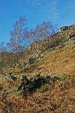 Curbar Edge, Peak District, Derbyshire, Royalty Free Stock Image