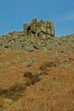 Curbar-Rand, Höchstbezirk, Derbyshire, Stockfotografie
