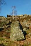 Curbar-Rand, Höchstbezirk, Derbyshire, Stockfotos
