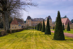 Curbigny Chateau de Dree in France Stock Photography
